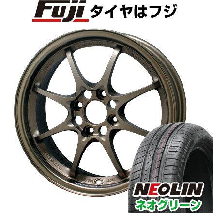タイヤ・ホイール, サマータイヤ・ホイールセット  RAYS VOLK CE28N 5.5J 5.50-15 NEOLIN () 16555R15 15 4