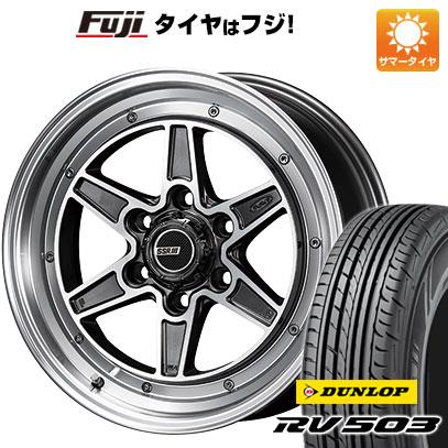 タイヤ・ホイール, サマータイヤ・ホイールセット  200 21560R17 17 SSR MK6 6.5J 6.50-17 DUNLOP RV503C 4