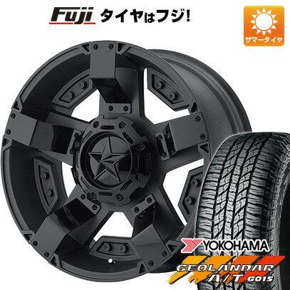タイヤ・ホイール, サマータイヤ・ホイールセット  25570R18 18 KMC XD XD811 ROCKSTAR2 9J 9.00-18 YOKOHAMA AT G015 RBL 4