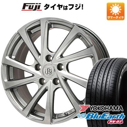 タイヤ・ホイール, サマータイヤ・ホイールセット  22555R18 18 BRANDLE E04 7.5J 7.50-18 YOKOHAMA RV-02 4