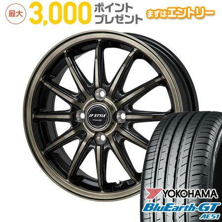 タイヤ・ホイール, サマータイヤ・ホイールセット  17565R15 15 MONZA JP 5.5J 5.50-15 YOKOHAMA GT AE51 4YOsum19