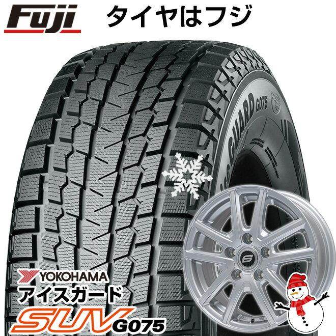 タイヤ・ホイール, スタッドレスタイヤ・ホイールセット  5114 YOKOHAMA SUV G075 22565R17 17 4 BRANDLE M61 7J 7.00-17