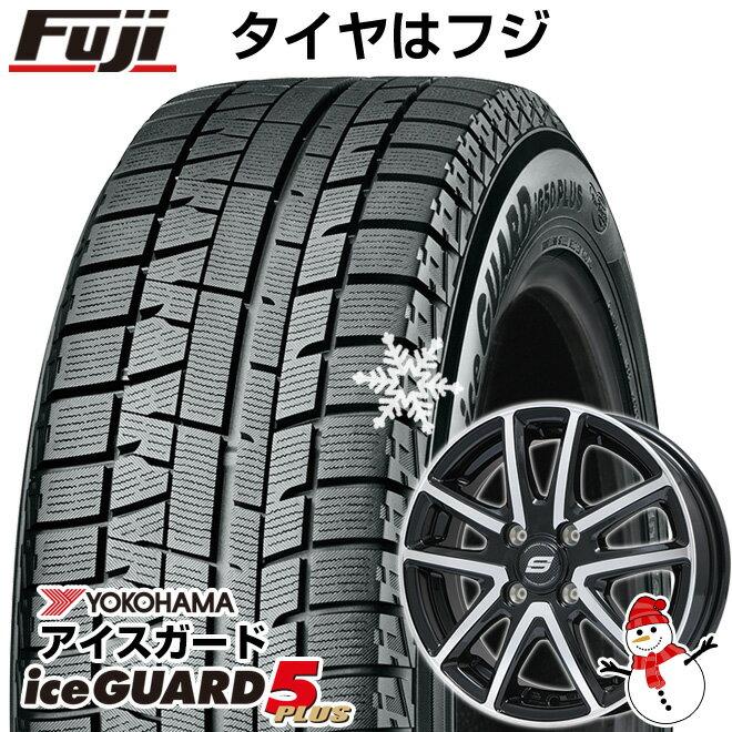 タイヤ・ホイール, スタッドレスタイヤ・ホイールセット  YOKOHAMA IG50 16565R14 14 4 BRANDLE M61BP 5.5J 5.50-14YOwin19