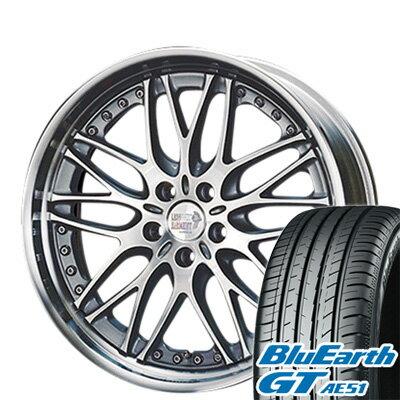 タイヤ・ホイール, サマータイヤ・ホイールセット  22550R18 18 SUPER STAR 7.5J 7.50-18 YOKOHAMA GT AE51 4YOsum19