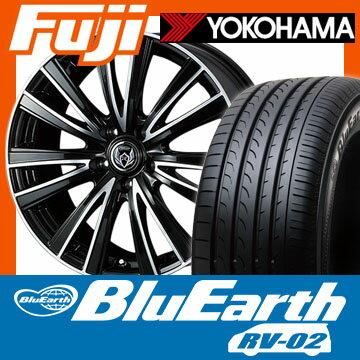 205/55R17 17インチ WEDS ウェッズ ライツレー JT 7J 7.00-17 YOKOHAMA ヨコハマ ブルーアース RV-02 SALE サマータイヤ ホイール4本セット【YO17sum】:フジコーポレーション