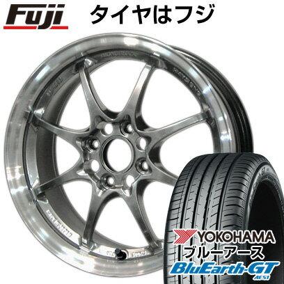 タイヤ・ホイール, サマータイヤ・ホイールセット  15565R14 14 RAYS VOLK CE28N 5J 5.00-14 YOKOHAMA GT AE51 4