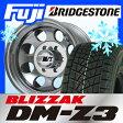 【送料無料】 BRIDGESTONE ブリヂストン ブリザック DM-Z3 285/75R16 16インチ スタッドレスタイヤ ホイール4本セット MICKEY-T ミッキートンプソン クラシック3 10J 10.00-16