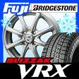 【送料無料】 BRIDGESTONE ブリヂストン ブリザック VRX 155/65R14 14インチ スタッドレスタイヤ ホイール4本セット BRANDLE ブランドル B-S8 4.5J 4.50-14