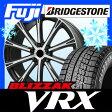 【送料無料】 BRIDGESTONE ブリヂストン ブリザック VRX 245/50R18 18インチ スタッドレスタイヤ ホイール4本セット BRANDLE ブランドル 962B 7.5J 7.50-18