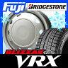 【送料無料】 BRIDGESTONE ブリヂストン ブリザック VRX 145/80R13 13インチ スタッドレスタイヤ ホイール4本セット ELBE エルベ オリジナル スチール 4J 4.00-13