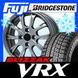 【送料無料】 BRIDGESTONE ブリヂストン ブリザック VRX 155/65R14 14インチ スタッドレスタイヤ ホイール4本セット BRANDLE ブランドル 486 4.5J 4.50-14