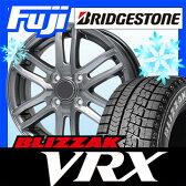 【送料無料】 BRIDGESTONE ブリヂストン ブリザック VRX 155/70R13 13インチ スタッドレスタイヤ ホイール4本セット BRANDLE ブランドル G61 4J 4.00-13