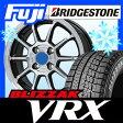 【送料無料】 BRIDGESTONE ブリヂストン ブリザック VRX 155/65R14 14インチ スタッドレスタイヤ ホイール4本セット BRANDLE ブランドル M60B 4.5J 4.50-14