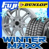 【送料無料】 DUNLOP ダンロップ ウィンターMAXX 01 155/65R14 14インチ スタッドレスタイヤ ホイール4本セット BRANDLE ブランドル M68 4.5J 4.50-14