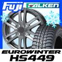【送料無料】 FALKEN ユーロウィンター HS449 オールシーズン(限定) 175/65R15 15インチ オールシーズンタイヤ ホイール4本セット BRANDLE ブランドル G61 5.5J 5.50-15