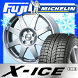 【送料無料】 MICHELIN ミシュラン X-ICE XI3 AGA F-8 6.5J 6.50-16 205/55R16 16インチ スタッドレスタイヤ ホイール4本セット【MI17win】