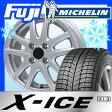 【送料無料】 MICHELIN ミシュラン X-ICE XI3 185/60R15 15インチ スタッドレスタイヤ ホイール4本セット BRANDLE ブランドル M61 6J 6.00-15【MI17win】