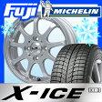 【送料無料】 MICHELIN ミシュラン X-ICE XI3 165/55R14 14インチ スタッドレスタイヤ ホイール4本セット LEHRMEISTER レアマイスター LMスポーツファイナル(メタリックシルバー) 4.5J 4.50-14