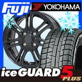 【送料無料】 YOKOHAMA ヨコハマ アイスガード ファイブIG50プラス 155/65R14 14インチ スタッドレスタイヤ ホイール4本セット BRANDLE ブランドル M68B 4.5J 4.50-14【YO17win】