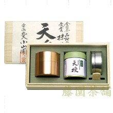【丸久小山園】全国茶品評会受賞抹茶・天授と開化堂銅製茶缶セット