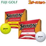ゴルフボール 2ダースセットDUNLOP SRIXON DISTANCEダンロップ スリクソン ディスタンス2018年モデル
