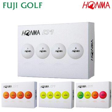 ゴルフボール 1ダース 本間ゴルフ D1HONMA GOLF NEW D12019年継続モデル