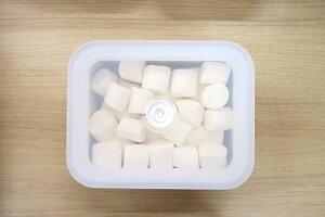 キッチン雑貨ホーロー真空琺瑯容器ヴィード浅型角容器M