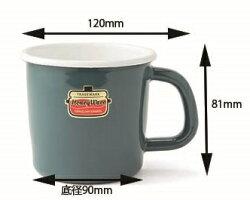 【安心のメーカー直販です。】マグカップ保温性抜群!富士ホーローハニーウェアキッチン雑貨Solidソリッドアウトドア8cmマグ