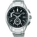 SEIKOセイコー腕時計ブライツフライトエキスパート デュアルタイム電波時計 SAGA287
