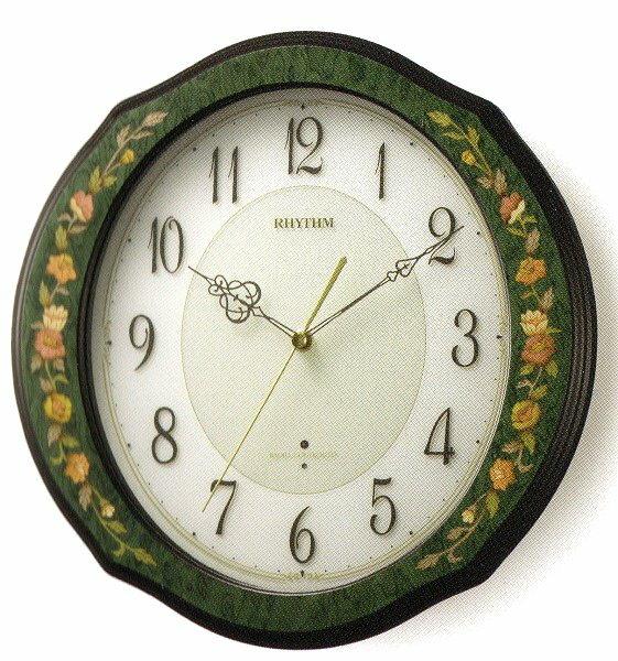 RHYTHMリズム時計高級掛時計電波時計RHG-M89 4MY748HG05:腕時計・ジュエリー周南館
