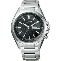 シチズン腕時計ソーラー電波時計アテッサAT6040-58E