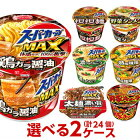 エースコックスーパーカップシリーズ選べる合計2ケース(24個入)セット[送料無料カップラーメンカップ麺詰め合わせまとめ買い箱ケース]