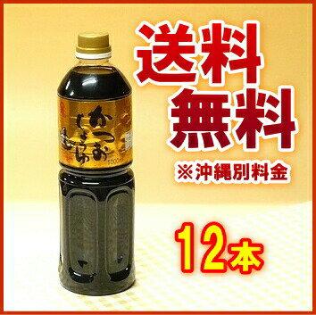 フジジン かつおしょうゆ 1L PET 1ケース(12本入)