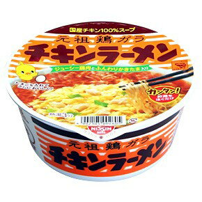 チキンラーメンどんぶり1ケース(12カップ入り) 日清食品カップラーメンまとめ買い  沖縄配達休止中です