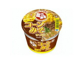 マルちゃんミニまるコーン味噌ラーメンバター風味49g1ケース(12個入) 東洋水産カップラーメンまとめ買い  沖縄配達休止中です