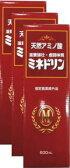 【指定医薬部外品】天然アミノ酸ミネドリン600ml×3