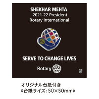 ロータリークラブ2021-22年度テーマネクタイシルク100%SERVETOCHANGELIVES奉仕しようみんなの人生を豊かにするためにRC