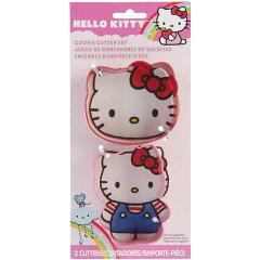 【メール便不可】Wilton(ウィルトン) Hello Kitty へーローキッティメタルクッキーカッターセ...
