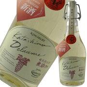 カタシモワイナリー新酒無添加デラウェア白[2015]500ml