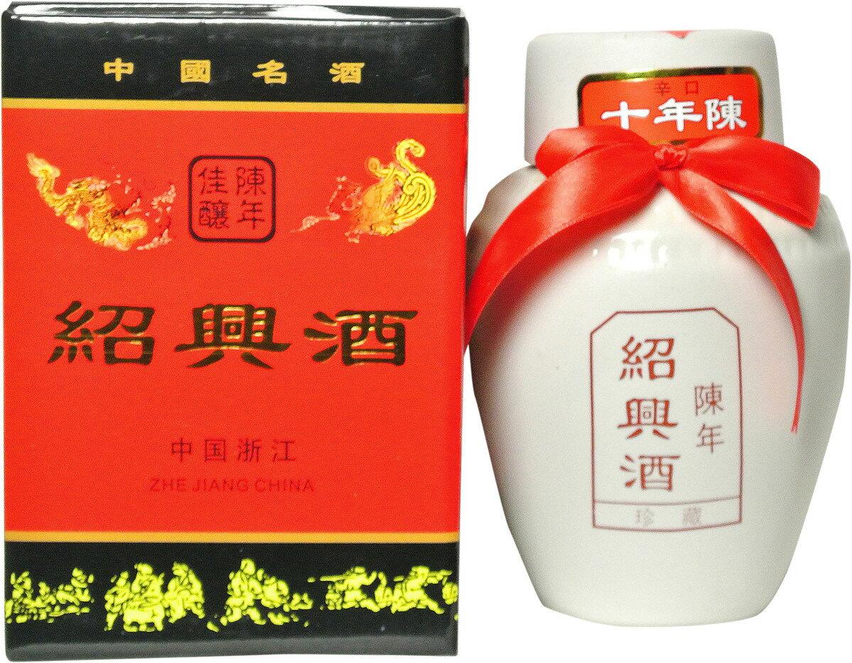 静安 紹興酒 珍蔵十年陳白壷 500ml