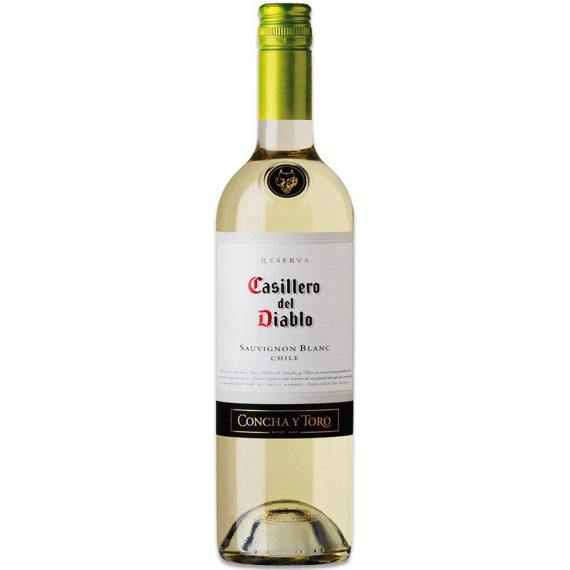 カッシェロディアブロ ソーヴィニヨンブラン 750ml※12本まで1個口で発送可能※お届けするワインのヴィンテージが画像と異なる場合がございます。※ヴィンテージについては、ご注文前にお問い合わせ下さい。