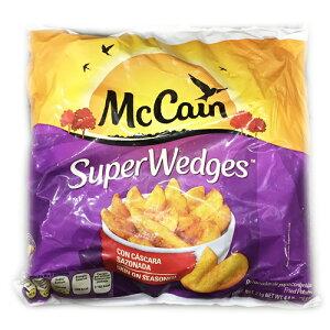 (冷凍便)マッケイン スーパーウェッジ ポテト 2kg 【 McCain フライドポテト コストコ costco 】