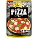 オーブンを使わず、フライパンだけで調理できる!オーマイ ピザミックス 200g 135円