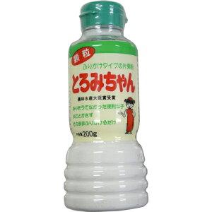 水にとかさず使えるふりかけタイプの片栗粉!とろみちゃん 顆粒片栗粉 200g 1本 300円