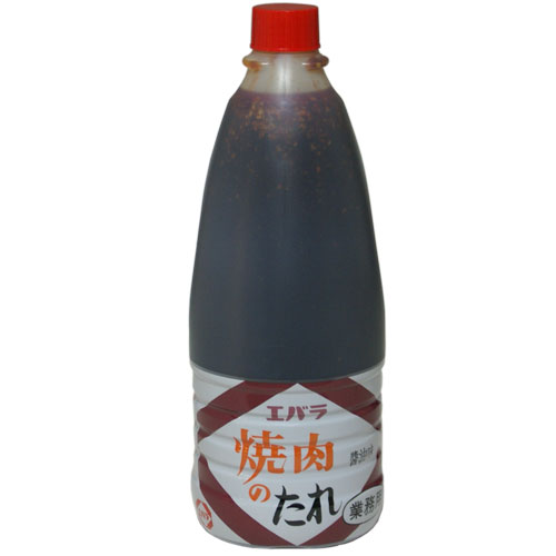 エバラ 焼肉のたれ 醤油味 業務用 1600g 1本 943円