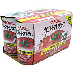 【数量限定】早い者勝ち!!超特売!カゴメ トマトジュース 食塩無添加 160g缶 6缶パックx5個(3...