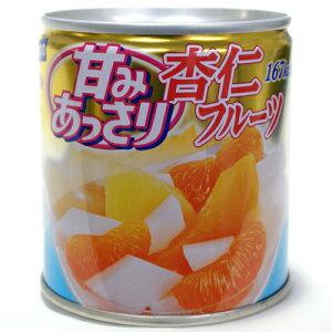 甘みをおさえたあっさりシリーズ!はごろも 甘みあっさり 杏仁フルーツ缶詰 220円