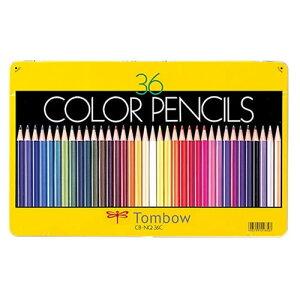 トンボ鉛筆 色鉛筆NQ 36色セット CB-NQ36C
