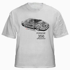 PORSCHE 356 Speedster 3241円 【Kai Art International ポルシェ ライセンス 公認 デザイン T...