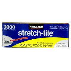 KIRKLAND Signature Stretch Tite Plastic Food Wr…